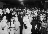Fancy dress occasion in old schoolhouse on School Street