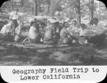 Geography field trip to Lower California / Lee Passmore