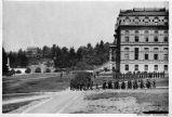 Military exercise, University of California, Berkeley, 1901