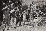 Honor guard of Azusa and Baldwin Park American Legion Posts, 1950s