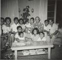 Gathering at the Soriano home with the Ventura family at 64 Acacia, Santa Paula, CA.