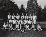 Mary A. Smart photograph of the Santa Ana Junior College girls softball team