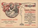 [Cover for Grand Opera House program]