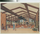 [Mission Viejo Saddle Club architectural drawing photograph].