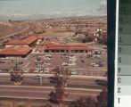 [La Paz Plaza shopping center aerial photograph].
