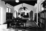 Photograph of interior of former Placentia Library