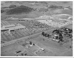 Aerial of Conejo Village Shopping Center and Conejo Valley Days