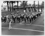 Photograph of the Valencia High School Band and Drill Team
