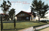 Postcard: Residence of Mrs. James A. Garfield, South Pasadena, California, about 1910