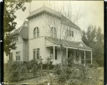 Photograph by Taber of Tolman Cottage at Mills College