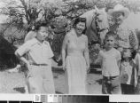 Photograph of Katie Lim with Roy Rogers