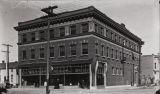 Lou P. Hickox photograph of the Santa Ana Masonic Temple