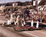 Pasadena Tournament of Roses Parade--Arcadia Float, 1976