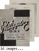Philippine Day Souvenir Program