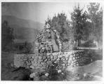 Upland Photograph Landscape; Tay's Fountain 2426 N. Euclid Avenue., Upland, California