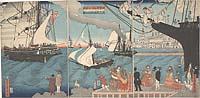 Amerika shū Karihorunia-kō shuppan no zu