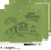 [New Madrid, Casa Moreno, plan 76 floor plan and exterior renderings brochure].