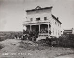 B.F. Conaway photograph of the Olive Heights Hotel