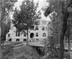 Photograph of science building at Mills College