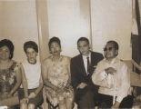 """Mayor William """"""""Bill"""""""" Soo Hoo with Belen Castaneda and Aquilino Bagay"""