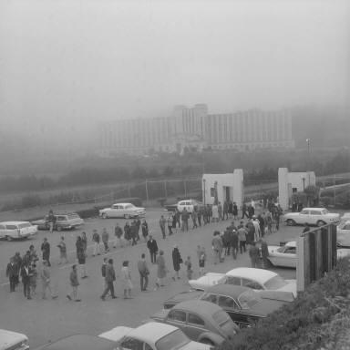 Civil Rights Demonstration -- San Bruno County Jail