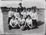 Mary A. Smart photograph of the Garden Grove High School girls basketball team