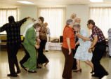 Dancing at the Dean Mericle Senior Citizens Center