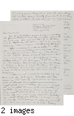 Letter from Paul H. [Kusuda] to [Afton] Nance, 1943, Feb 25