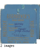 Press pass, President Eisenhower's 1959 visit to India