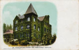 Postcard of Nathaniel Gray Hall at Mills College