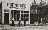 Mt. Wallace furniture store, 1909-1910, on 5th Street between Euclid and Beaumont Ave.