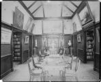 Photograph by Taber of Sage Library (Sage Hall) at Mills College