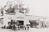 Harold Y. Shimizu Garage, 1936 : largest garage-car dealership in Santa Barbara County.