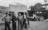 Amador Garage, Dublin,  postcard
