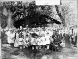 Wedding at Pioneer Cabin, F Street