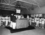 Torah Lifting at Camp Alonim