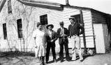 Kate Tehan (1880-1968) and friends of Dan Tehan, (c. 1932), photograph