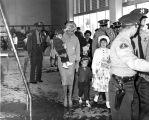 Actress Jayne Mansfield at Aquatorium opening