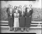 [Thirteen women]