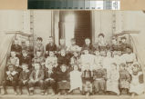 Third-grade picture of Viola Stoner and classmates