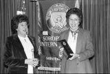 Photograph of the Soroptimist International award ceremony
