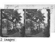 Bishop Street from the Dillingham Bldg. Honolulu.