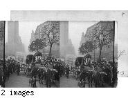 Ezra Meeker and his ox team. New York City, N.Y. [photographer: Angel, 1907 (EWE 6/1988)]