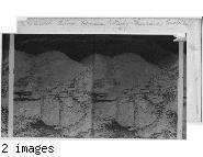 Ruined Stone Houses, Wady Furan, Arabia