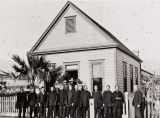 Chinese Congregational Church : 1006 Chapala Street, Santa Barbara ; Mr. McKinley, osteopath, was Sunday School teacher.