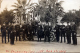 Fire Chief Ledgerwood with South Pasadena Fire Department, February 22, 1909