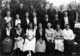 Pleasanton School class, (1921), photograph
