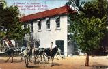 "Cawston Ostrich Farm Postcard: ""A Corner of the Sunshine Factories, Cawston Ostrich Farm, South Pasadena, California"""