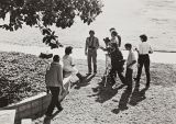 Armin Johnson instructing students on outdoor photography, 1980s