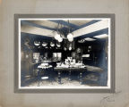 Upland Photograph Houses; W. B. Stewart home, interior photograph of the dining room / Edna Swan